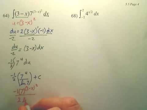 5.5d1 Bases Other than e and Applications - Calculus
