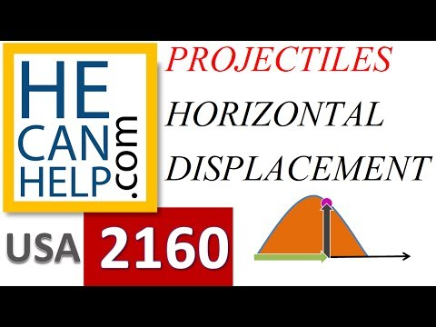 [MM 2160] TEST + A [Horizontal Displacement] Physics Projectile Motion i NEED {HECANHELP.COM}
