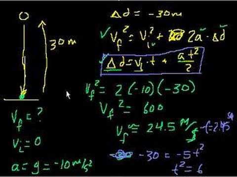 Projectile motion (part 10)