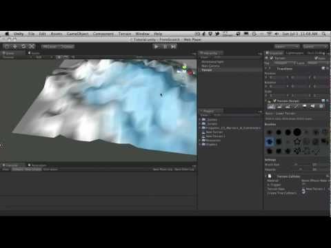 243. Unity3d Tutorial - From Scratch Part N - Tutorial Scene Setup
