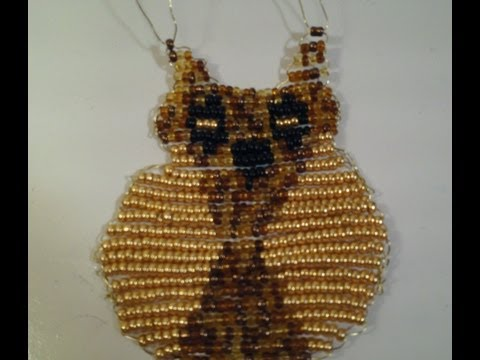 How to make a Beaded Owl Necklace