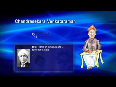 Top 100 Greatest Scientist in History For Kids(Preschool) - CHANDRASEKARA VENKATARAMAN
