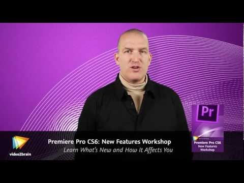 Premiere Pro CS6: New Features Workshop Trailer