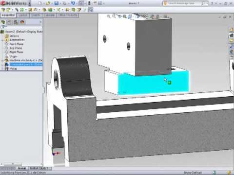 Solidworks - Creating Assemblies - Sub Assemblies