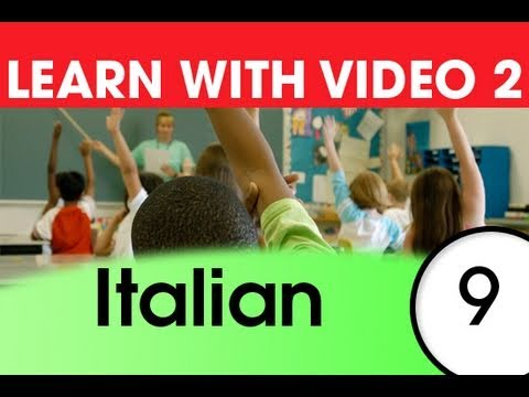 Learn Italian with Video - Italian Expressions and Words for the Classroom 2