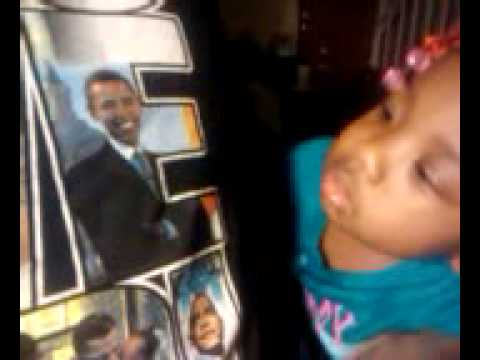 My Two Year Old Knows Obama