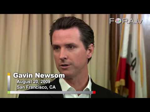 Defending the Public Option - San Francisco Mayor Gavin Newsom