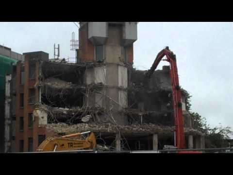 Part 1 - Demolition of Lloyd building: Oxford Brookes University