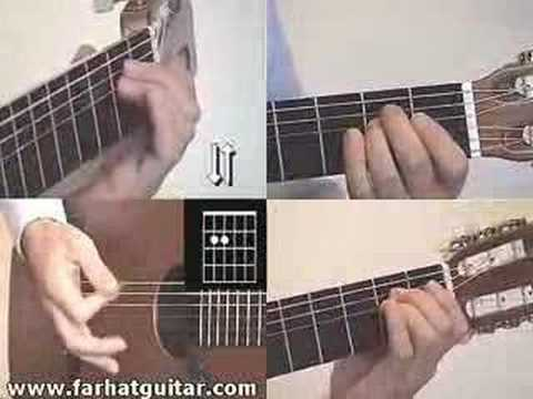 redemption song bob marley guitar lesson part 5  www.farhatguitar.com