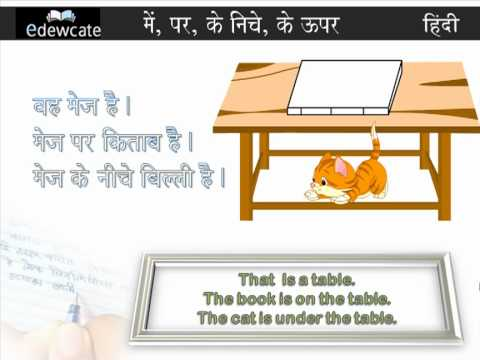Hindi Grammar : Pad Prayog