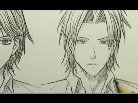 How to Draw Manga Faces [Part 2: SHONEN]