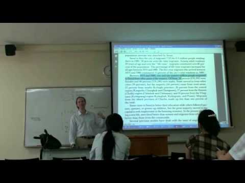 Environmental Sociology 7 (3/6): New Ecological Paradigm: Example: Environmental Underclasses