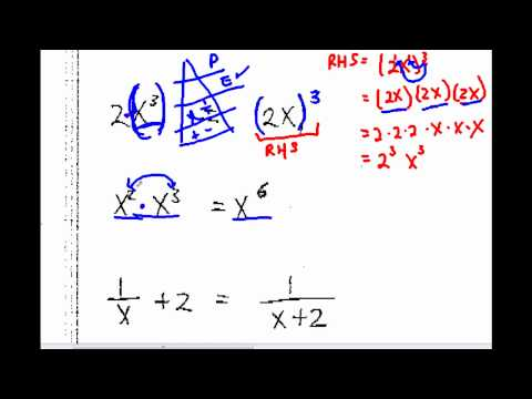 Algebra Quick Fixes Part 3