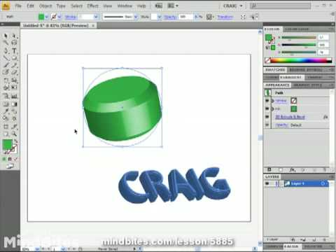 Illustrator CS4 Intro 53: Outline Mode