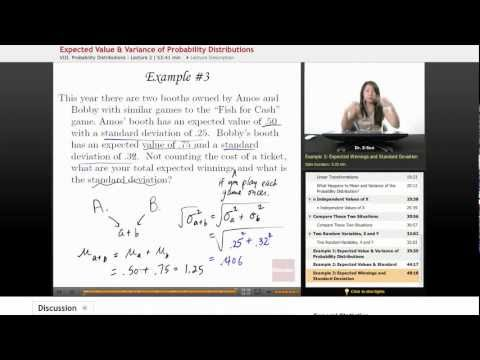 Statistics: Expected Value