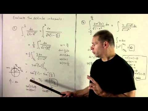 Integrals with Inverse Trig Functions 3