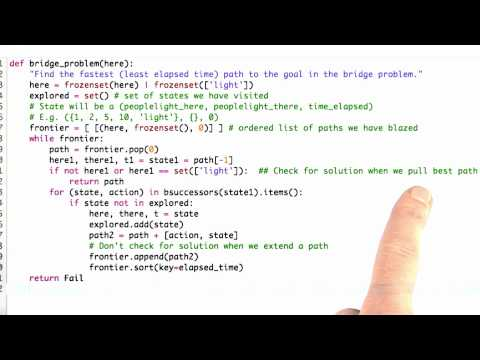 Modify code Solution - CS212 Unit 4 - Udacity