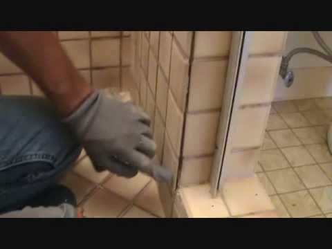 How to install grout: Part 2 of 2: Removing loose tile grout before installing your grout patches