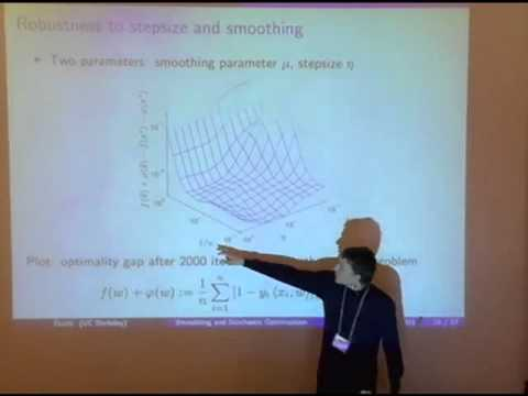 NIPS 2011 Big Learning - Algorithms, Systems, & Tools Workshop: Randomized Smoothing for...