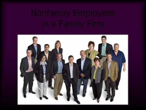 Chapter 5 (Part 3 of 4) The Family Business
