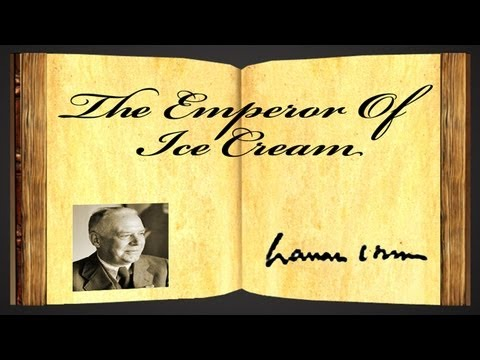 The Emperor Of Ice-Cream by Wallace Stevens - Poetry Reading