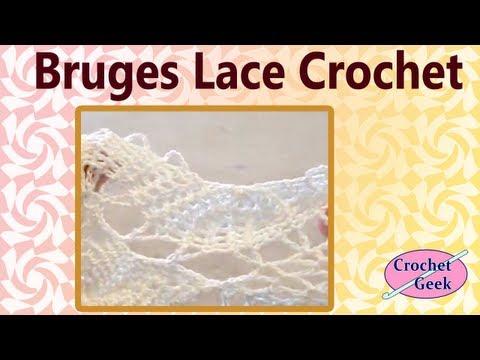 Crochet Bruges Lace 2