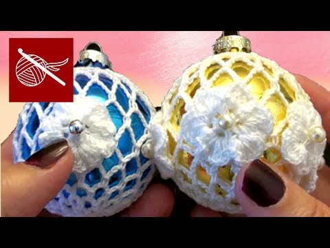How to Make a Thread Crochet Holiday Lace Ornament - Christopher