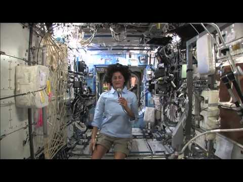 Station Crew Member Suni Williams Discusses Life in Space with Media Representatives