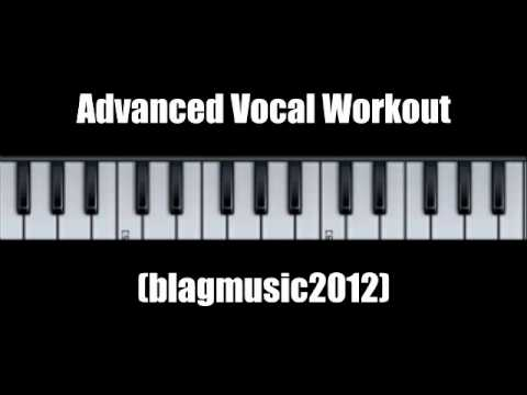 "Advanced Vocal Workout - Inspired by ""The Voice UK"" BBC One"