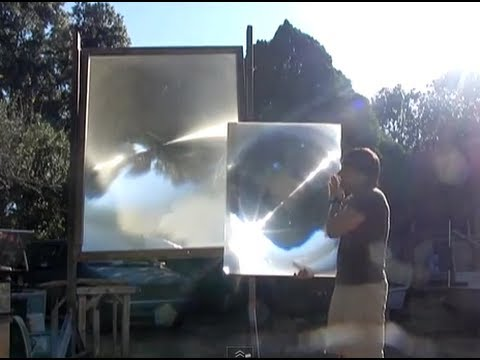 New Generation of Solar Fresnel Lens GIANT SOLAR magnifying glass