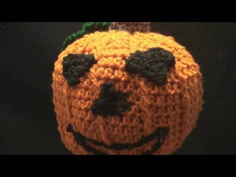 Crochet Halloween Pumpkin
