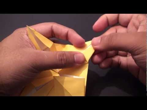 Origami Daily - 031: Decorative Sun Star - TCGames [HD]