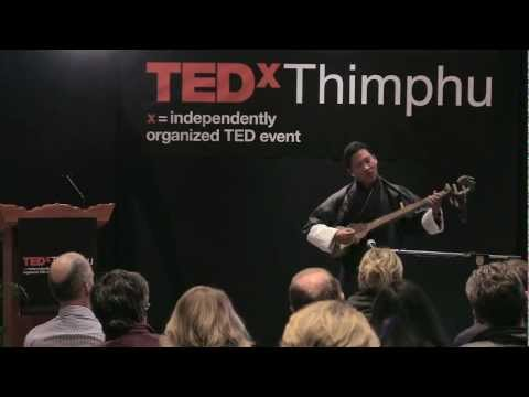 Traditional Music Matters in Bhutan: Sonam Dorji at TEDxThimphu