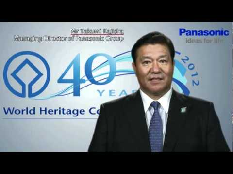 40th Anniversary of the UNESCO World Heritage Convention and Panasonic