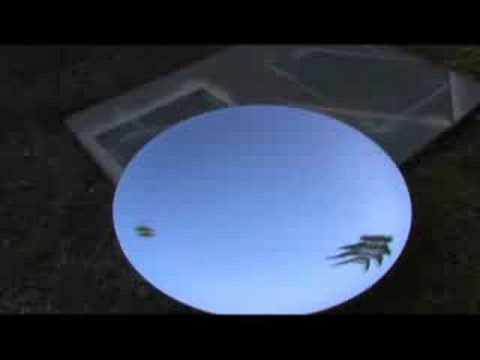 HUGE PARABOLIC MIRROR SOLAR POWERED SUN COLLECTOR solar energy