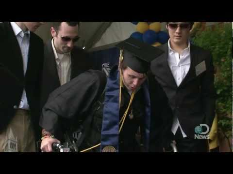 Paralyzed Student, Austin Whitney, Walks at Graduation Explained