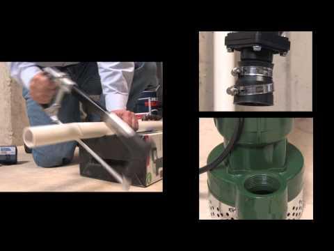 How to Install an AC Sump Pump - Basement Watchdog