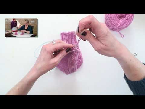Learn to Knit Magic Loop Socks - Part 6