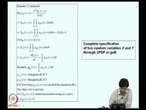 Mod-01 Lec-04 Multi-dimensional random variables-1