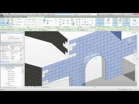 Revit Architecture: Exploring advanced stitching strategies | lynda.com tutorial