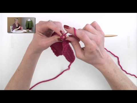 Knitting Help - Purl Through the Back Loop (ptbl)