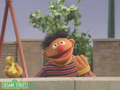 "Sesame Street: Ernie sings ""Somebody Come and Play"""