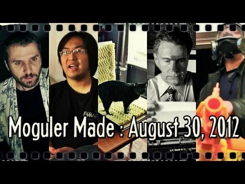 A Youtube Partner Documentary, A DIY Vocal Booth, and More! : Moguler Made: August 30, 2012