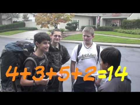 Reel Math Challenge - Mix n Match: the Power of Clever Combinations (2011-2012 Winning Video)