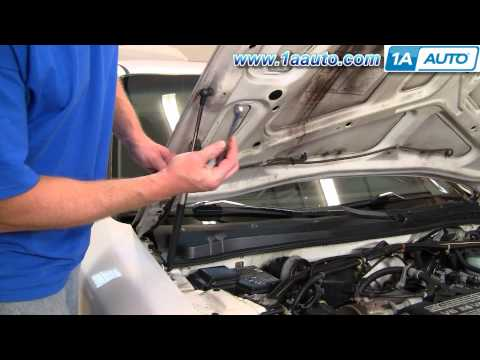 How To Install Replace Hood Lift Support Honda Accord 94-97 1AAuto.com