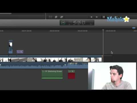 Recording Audio - Final Cut Pro X