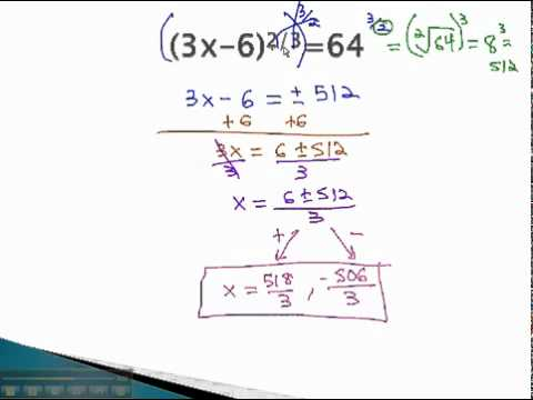 Equations with Exponents - Rational Exponents - YouTube.mp4