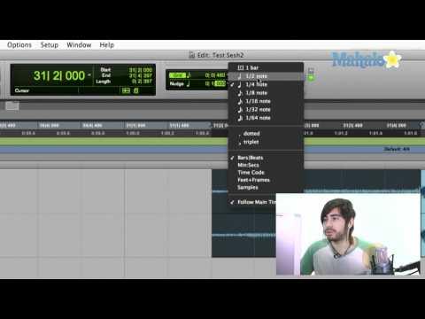 Moving Regions - Pro Tools 9