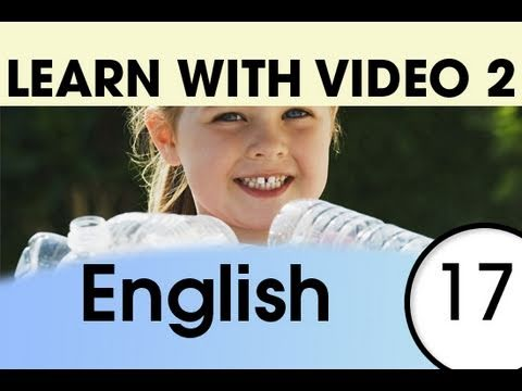 Learn English with Video - English Expressions That Help with the Housework 1