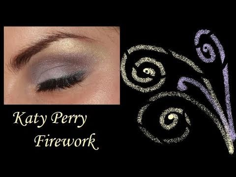 Katy Perry Firework make up tutorial look